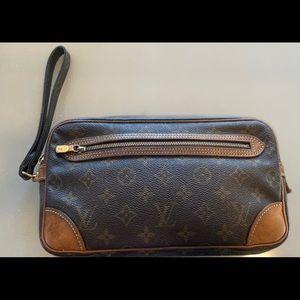 Louis Vuitton monogram Marly Dragonne GM clutch